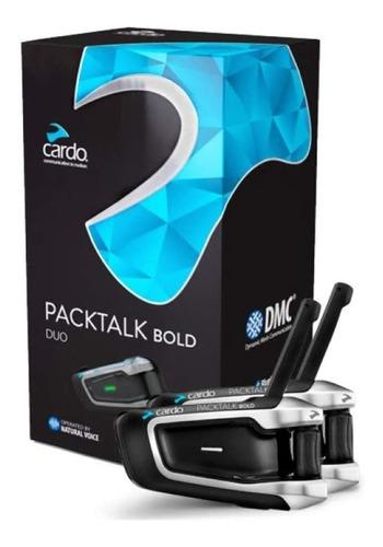 Intercomunicador Cardo Packtalk Bold Duo By Jbl Ptb00101