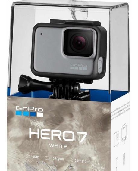Câmera Digital Gopro Hero 7 Silver Com 10 Mp, Gravação Em 4k