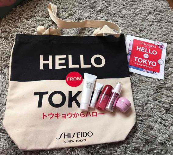 Bolsa + Produtos Hello Tokyo Shiseido