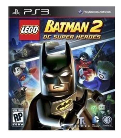 Lego Batman 2: Dc Super Heroes - Ps3 - Mídia Física
