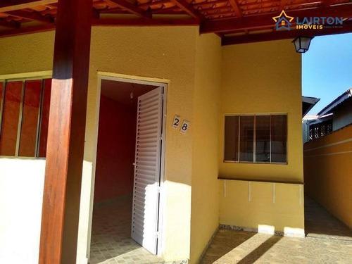 Casas Térreas À Venda Em Condomínio Fechado Bom Jesus Dos Perdões Sp - Ca1966