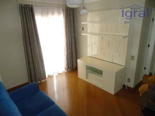 Apartamento Com 1 Dormitório À Venda, 58 M² Por R$ 380.000,00 - Vila Guarani (zona Sul) - São Paulo/sp - Ap1327