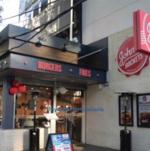 Imagen 1 de 7 de Excelente Local Comercial Sobre Ellauri (ex Johnny Rockets)
