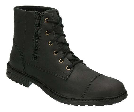Bota Coturno Casual Sapato Lançamento Mr Carter Preta