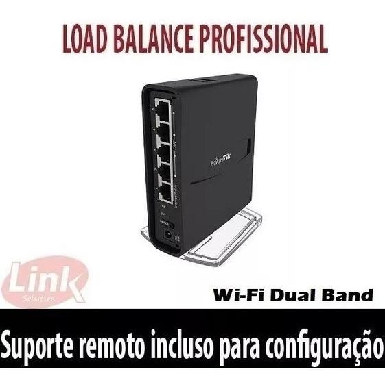 Roteador Wifi Mikrotik Rbd52g (hap Ac2) Load Balance Gigabit