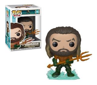 Funko Pop 245 Aquaman Dc Original