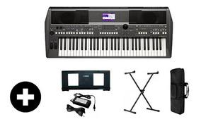 Kit Teclado Yamaha Psr S670 Frete Grátis + Capa+sup+ritmos