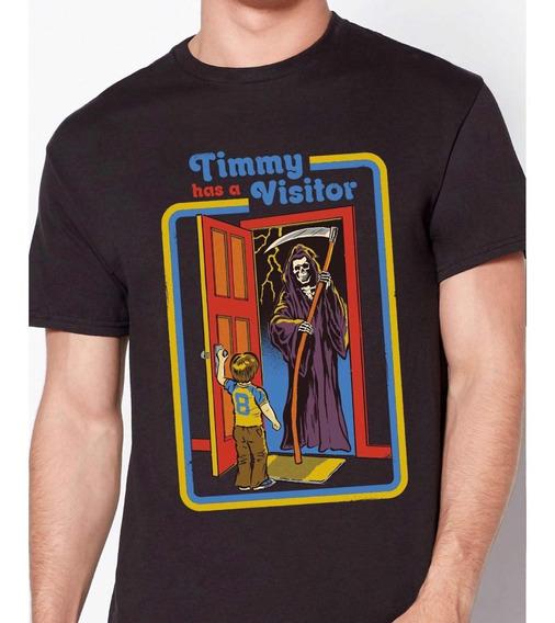 Playera De Steven Rhodes Diseño Timmy Has A Visitor