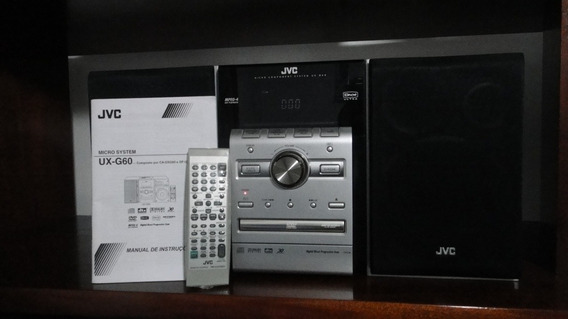 Jvc Micro System Dvd Modelo Ux-g60 Novo Raridade