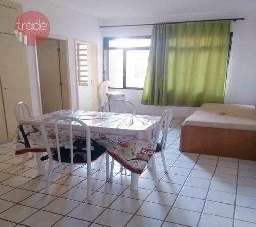 Kitnet, 34 M² - Venda Por R$ 130.000,00 Ou Aluguel Por R$ 1.000,00/mês - Centro - Ribeirão Preto/sp - Kn0023
