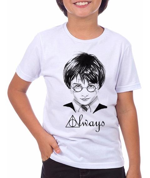 Camiseta Infantil Harry Potter Always Do Tam: 2 Ao 12
