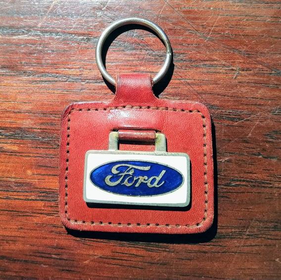 Llavero Antiguo De Ford Coleccionistas Original