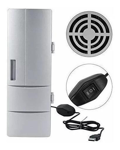 Mini Refrigerador Portatil Usb Cerveza Refresco Frio/calient