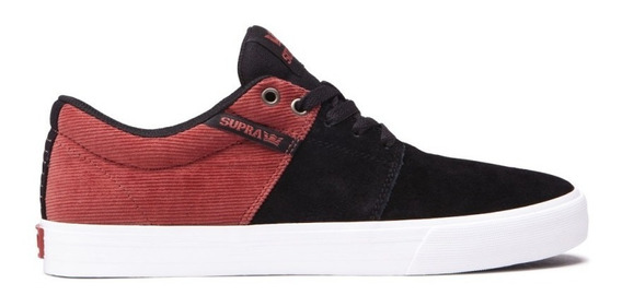 Supra Footwear - Stacks Vulc 2 - Black-red 27m / Tenis Skate