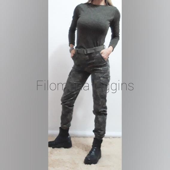 Pantalon Cargo Mujer Tipo Babucha Los + Lindos! Filo Leggins