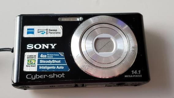 Câmera Sony Dsc-w530 - Defeito - Para Retirada De Peças