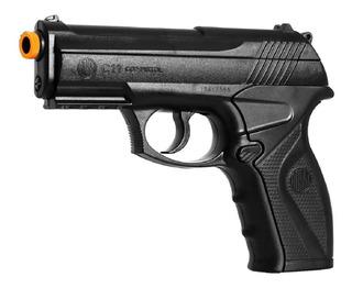 Pistola De Pressão Co2 C11 Airgun Wingun 6mm Esfera De Aço