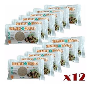 Kit 12x Konjac Noodles Macarrão Milagroso Shirataki 350g