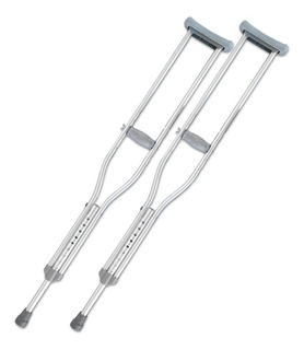 Par De Muleta Ortopédica Ajustable