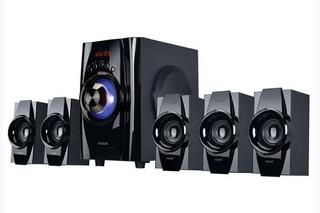 Parlantes Multimedia 5.1 Niza Bluetooth Auxiliar Rca Fm 40w