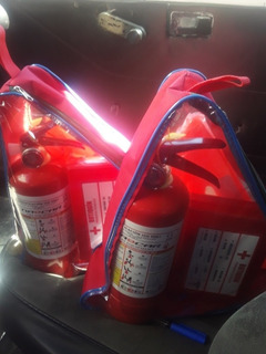 Extintor Para Auto Kit Completo