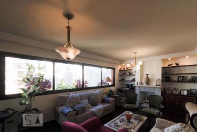 Apartamento No 10º Andar Mobiliado Com 4 Dormitórios E 3 Garagens - Id: 892917415 - 217415
