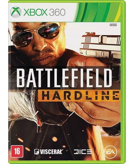 Battlefield Hardline Dublado Português Mídia Física Xbox 360