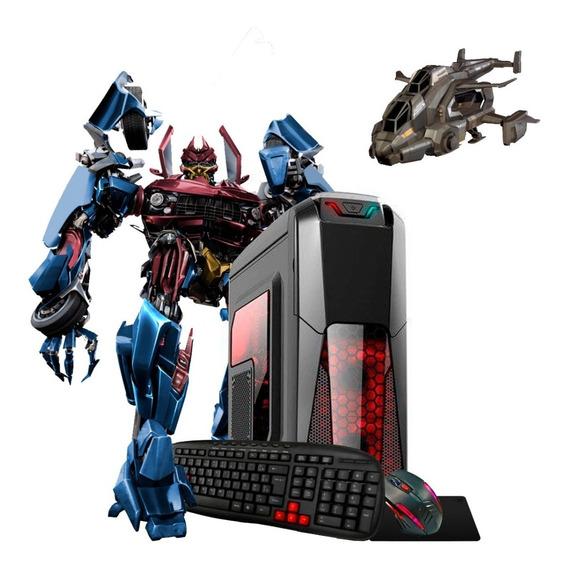 Pc Gamer A8 9600 3.4gz 10núcleos Ssd+1t Ddr4 16gb R7 4k Novo