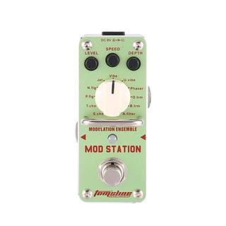Aroma Ams 3 Mod Estación Modulación Efecto Conjunto Pedal De