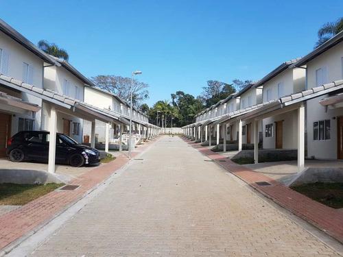 Casa De Condomínio Com 3 Dorms, Centro, Embu-guaçu - R$ 438 Mil, Cod: 1097 - V1097
