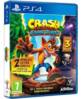 Crash Bandicoot Insane Trilogy Ps4 + Envio Gratis