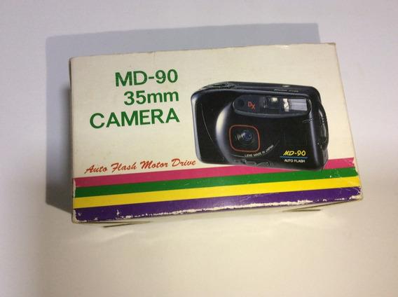 Câmera Fotográfica Yashica Md 90 35mm Leia Descritivo