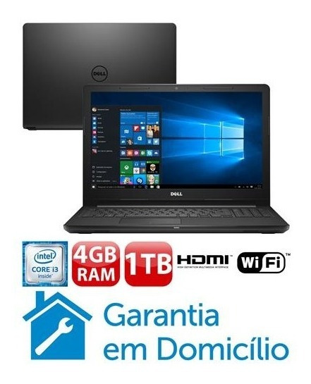 Notebook Dell Inspiron 15,6