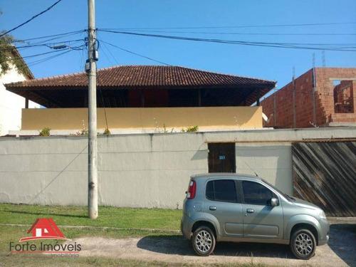 Casarão Linear C/ 4 Dormitórios Sendo 2 Suítes Na Pedra De Guaratiba Rj - Ca0099