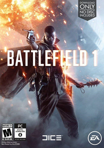 Battlefield 1 Pc Original + Online + Español