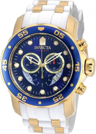 Relogio Invicta Pro Diver 20288 Banhado Ouro Original