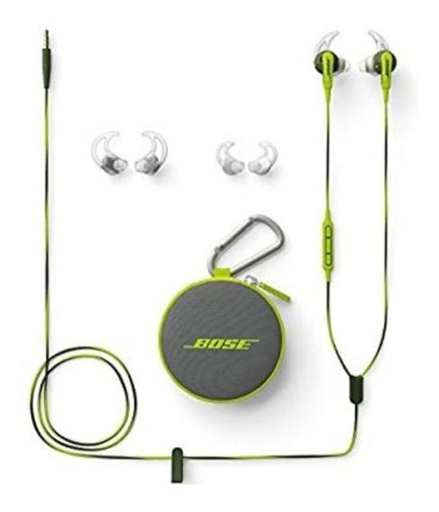 Fone Bose Soundsport In-ear Verde - Preço Para Vender Hoje!