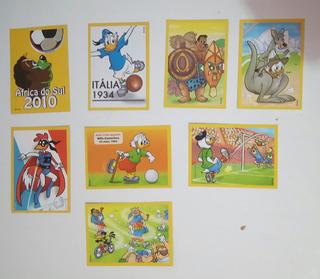 Figurinhas Do Album Copa Disney 2010