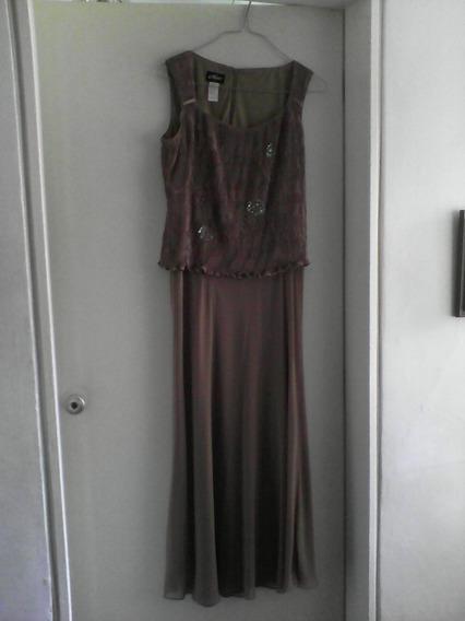 Vestido Largo De Fiesta De Dama Talla L Importado