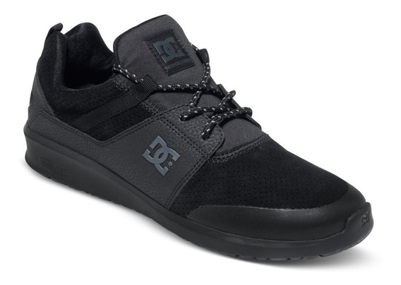 Zapatillas Dc Shoes Mod Heathrow Negro Negro Prestige!