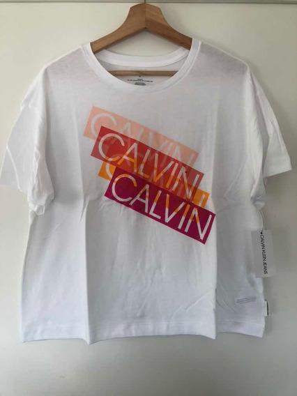 Remera Calvin Klein Blanca