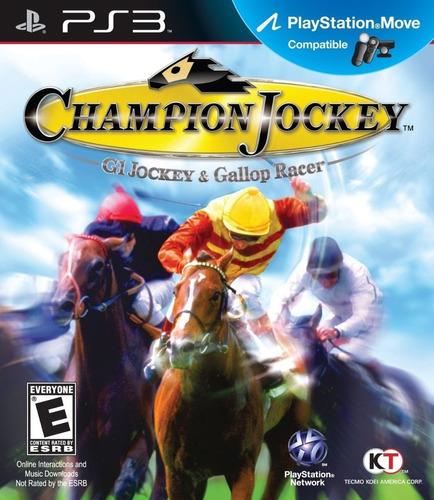 G1 Jockey And Gallop Racer Ps3 Original Carrera Caballos
