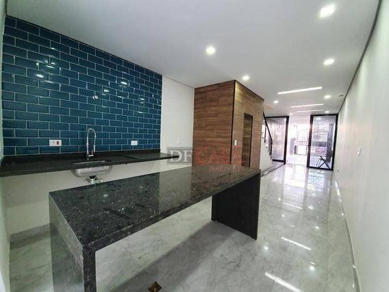 Sobrado Com 3 Dormitórios À Venda, 120 M² Por R$ 510.000,00 - Vila Carrão - São Paulo/sp - So3065