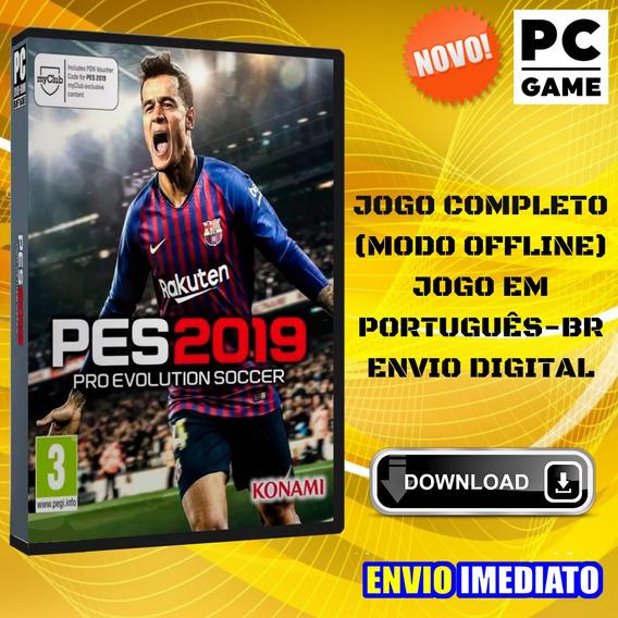 Pes 2019 - Pc - Português - Envio Imediato
