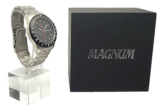 Relógio Masculino Aço Inox Com Garantia De 2 Anos
