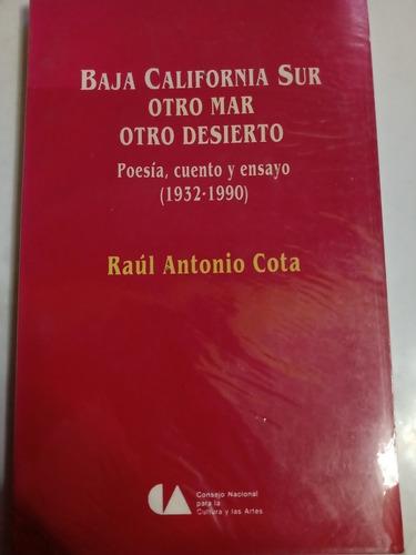 Imagen 1 de 3 de Libro Baja California Sur Otro Mar Otro Desierto Literatura