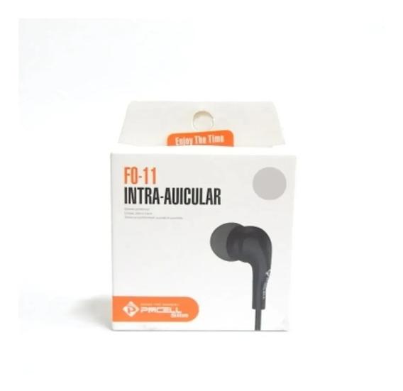 Fone De Ouvido Com Fio Pmcell F0-11 Intra-auricular Celular
