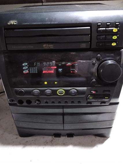 Mini System Jvc Modelo Mx-d4t Com Defeito