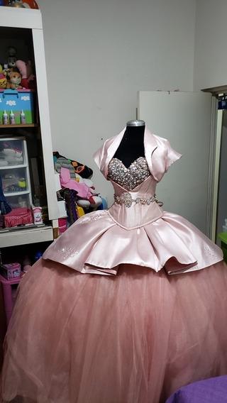 Vestido Xv Ragazza Rosa