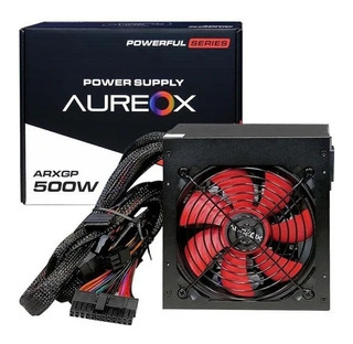 Fuente Pc Gamer Aureox Arxgp 500w Reales Cooler 120mm